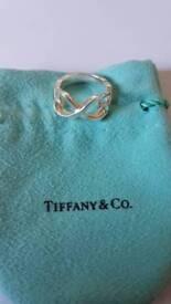 Tiffany & Co Picasso loving heart ring - RARE SIZE O