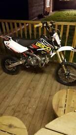 Demon x stomp pitbike 140