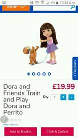 Dora puppy train and doc mcstuffin vet dog