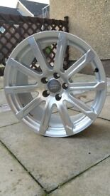 audi alloy s line 18 inch 10 spoke