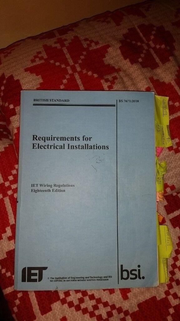 Superb 18Th Edition I E E Wiring Regulations Book And Study Aids In Wiring Cloud Battdienstapotheekhoekschewaardnl