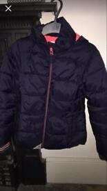 Girls Next quilted Coat age 7-8