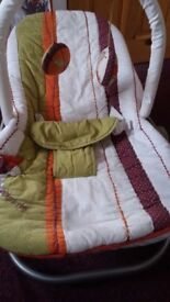 Mamas and papas baby bouncer seat. Excellent condition