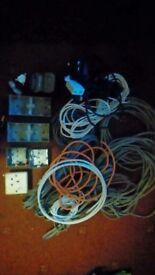 Loads of diy electrical stuff