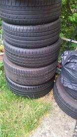 VERY GOOD CONDITION TYRES FOE SALE! SIZES SEE BELOW