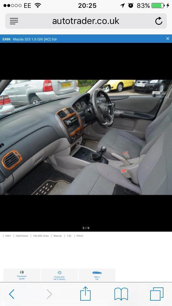 Mazda 323f gxi