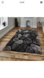 3D shaggy soft polyester rug rugs