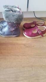 Clarks shoes&boots size 7