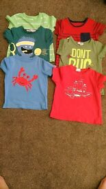 Bundle of boy clothes from 18-24 monts to 2-3 years