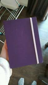Brand new purple A5 2017 Diary