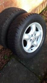 Land rover freelander 1 brand new wheel & Goodyear tyre