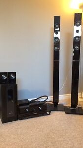 Panasonic/samsung 5.1 (5-disc) home theatre system