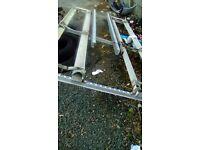 Heavy duty transit roof rack