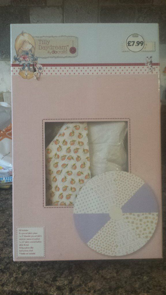 Brand New sealed Tilly Daydream Patchwork Cushion Kit