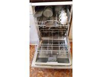 Bosch free standing white dishwasher