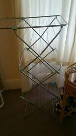 Clothes hanger dryer airer rack