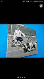 Jimmy Greaves Signed Canvas
