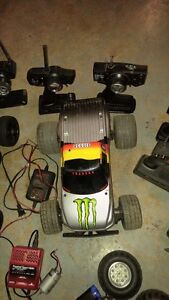 2 rollers and a full box of rc stuff