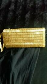 Ladies golden purse