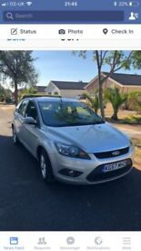 Ford Focus zetec 1.6 petrol excellent condition