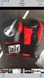 Grant boxing gloves