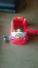 Vtec laugh and learn car