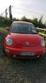 Volkswagen Beetle 1.9tdi