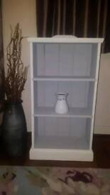 Hand made and hand painted bookcase with Annie Sloan chalk paint
