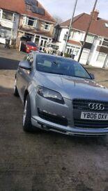 Q7 Audi 3.0 ***7 Seats*** 06 plate