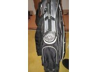 CALLAWAY Golf bag silver/grey/black with stand