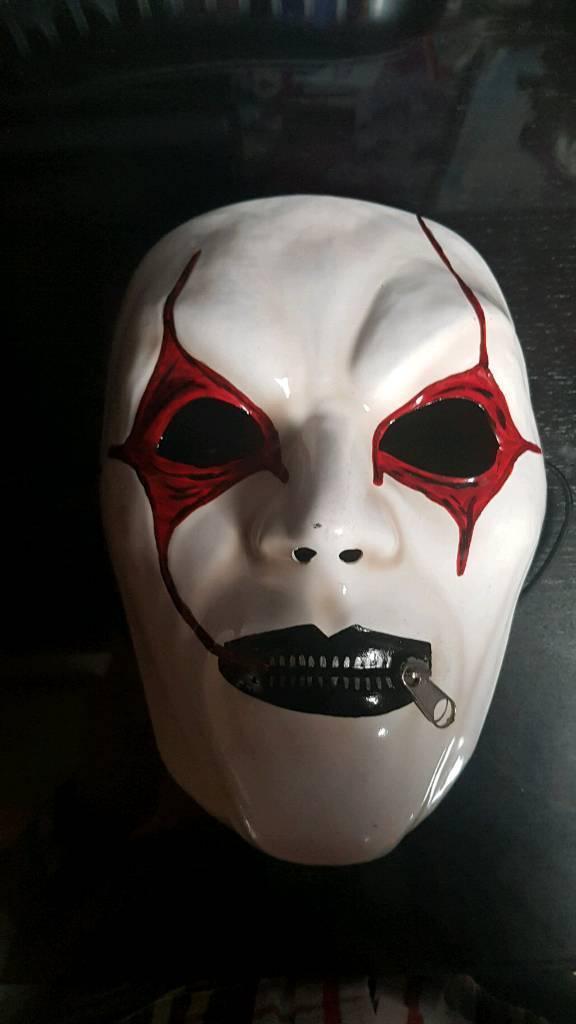 Slipknot Jim Root Mask In Aberdare Rhondda Cynon Taf