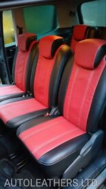 MINICAB/PCO CAR LEATHER SEAT COVERS VW VOLKSWAGEN PASSAT VOLKSWAGEN TOURAN VOLKSWAGEN SHARAN SHARON