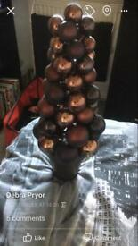 Brown bauble tree by Next