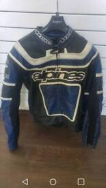 Alpinestars 2 piece leather