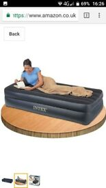 Single airbed, inflatable bed, double depht