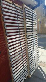 Ikea LONSET Slatted Bed Base Slats - King Size - 150cm Wide