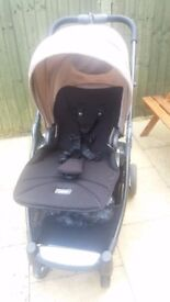 Mamas and Papas Armadillo Flip Pram, and Stroller, carrycot and raincover