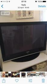 "42"" Samsung flat screen plasma tv"