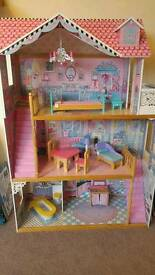 Dolls house from early learning centre