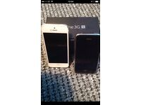 I phone 3 and 5 sold as seen spares or repairs