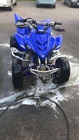 Yamaha Raptor 350 not 660 700 road legal quad