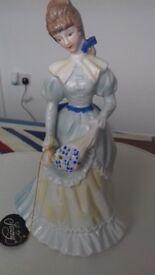 Stunning lady figure saxony cost new £64 selling £20
