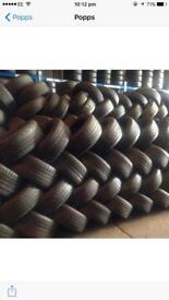 Tyre Shop . 205/50/16 225/55/16 205/50/17 245/45/17 195/55/16 195/65/15 Van Tyres Stocked New & Used
