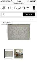 Laura Ashley Malmaison Rug - as new