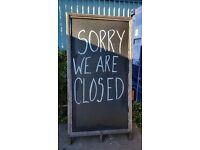 Pub, Restaurant, Cafe & Wine Bar Chalk Board