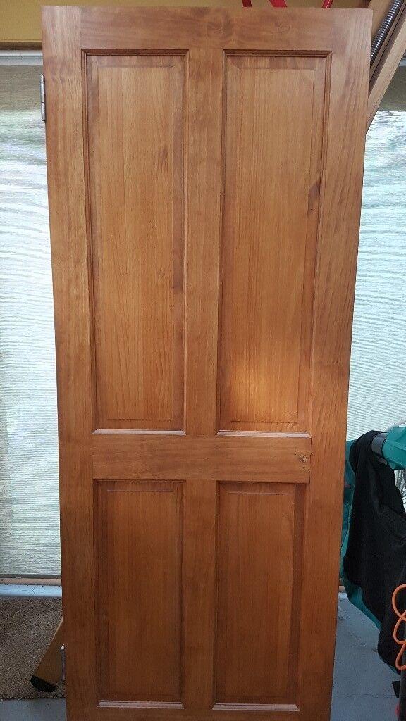 Internal Door 750 X 1960mm 4 Panel Wood Wickes