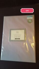 M&S double fitted sheet