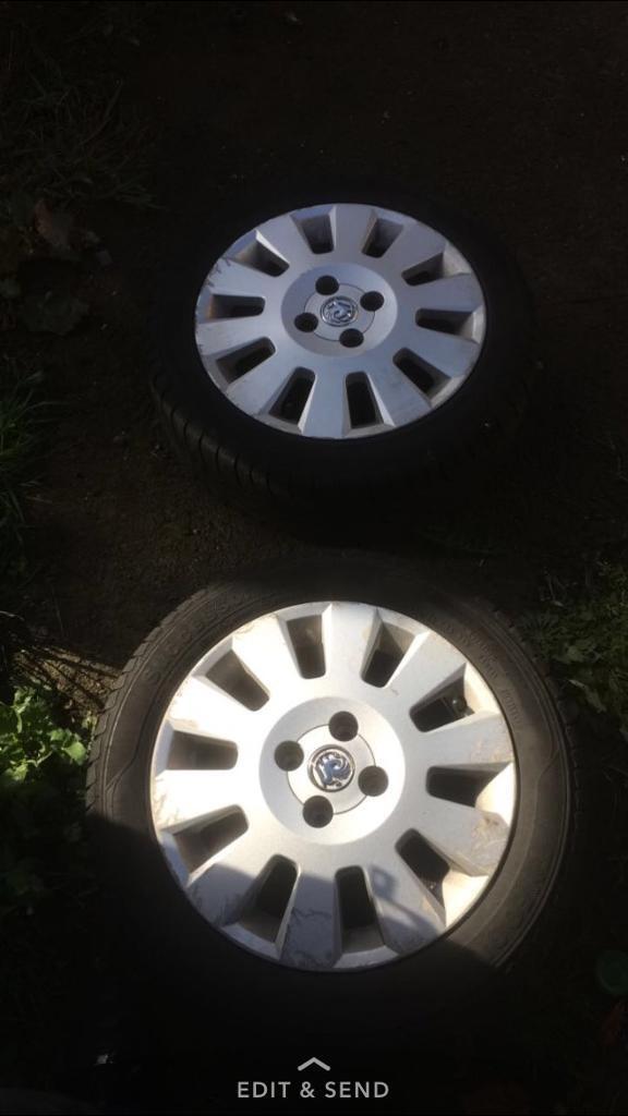Vauxhall corsa active alloys