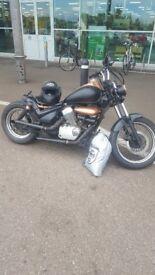 Suzuki intruder v twin 125cc