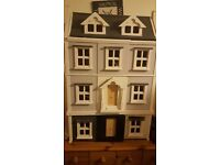 Dolls House and boxes of accessories